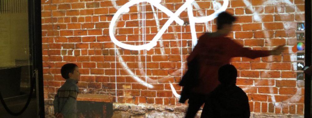 Animation graffiti enfant