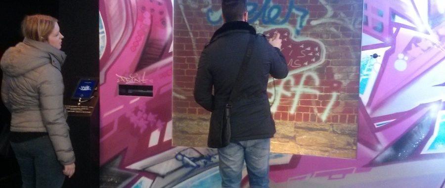 graffiti wall Instagram