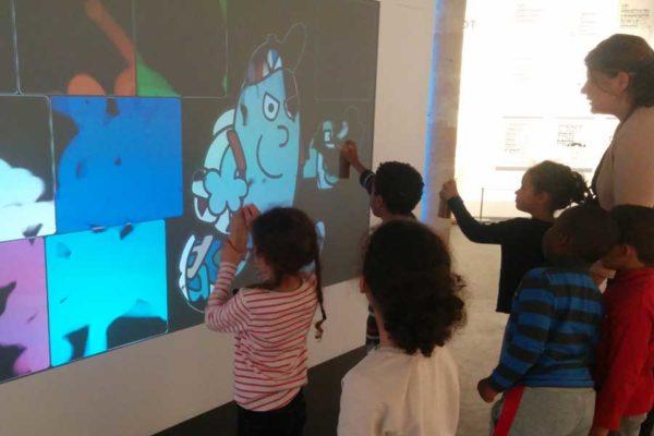 Graffiti digital - écran numérique - animation digitale pour événement jeune public