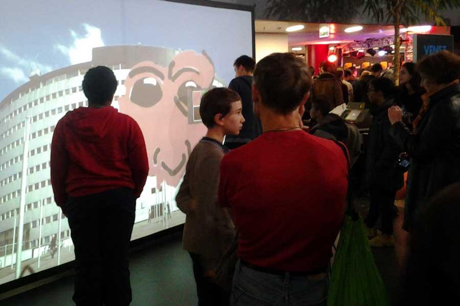 Graffiti numérique - Animation digitale soirée d'entreprise