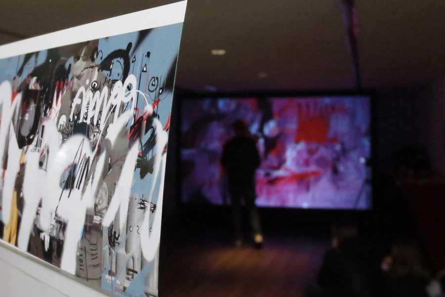 Graffiti numérique - animation digital événement - print écran numérique