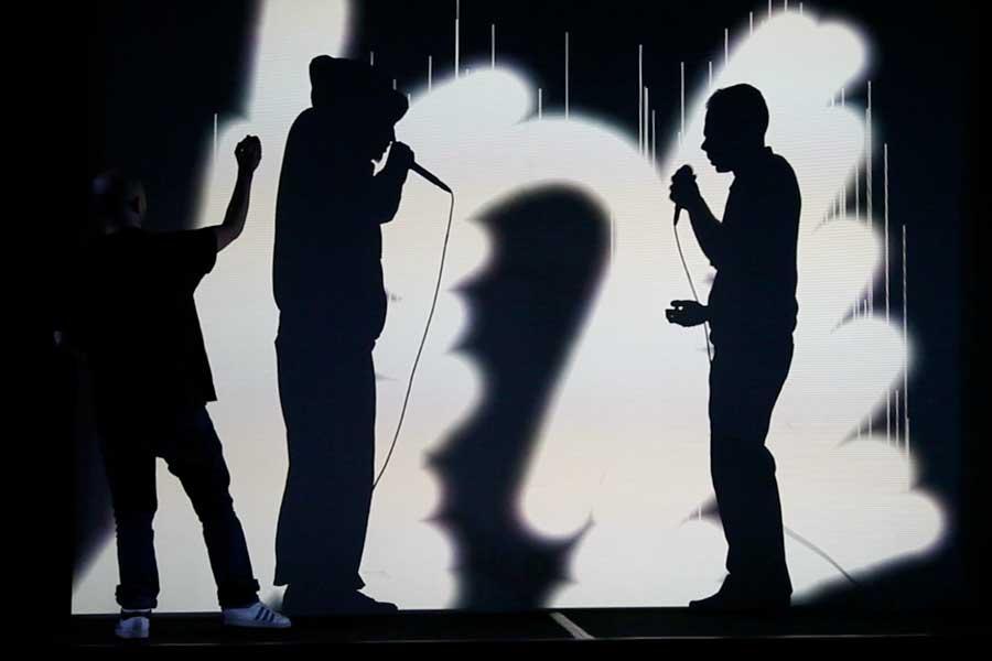 Graffiti numérique - animation digitale événement culturel - spectacle