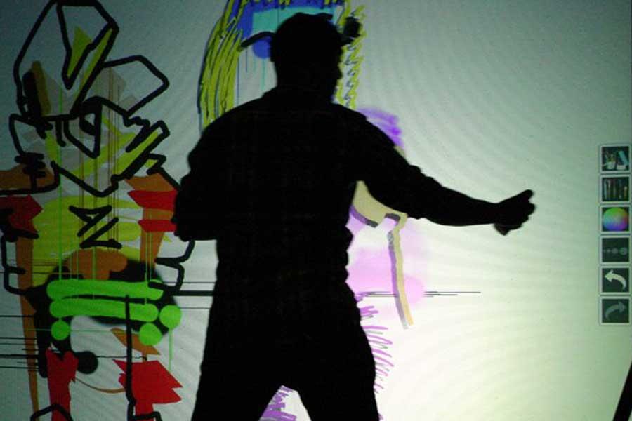 Graffiti numérique - animation digitale événement