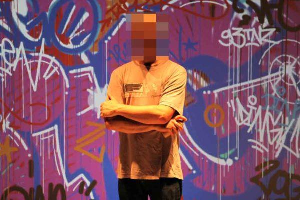 Graffiti numérique - animation digitale pour événement - Dingo