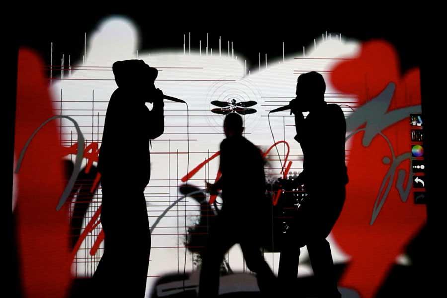 Graffiti numérique - animation digitale pour événement culturel