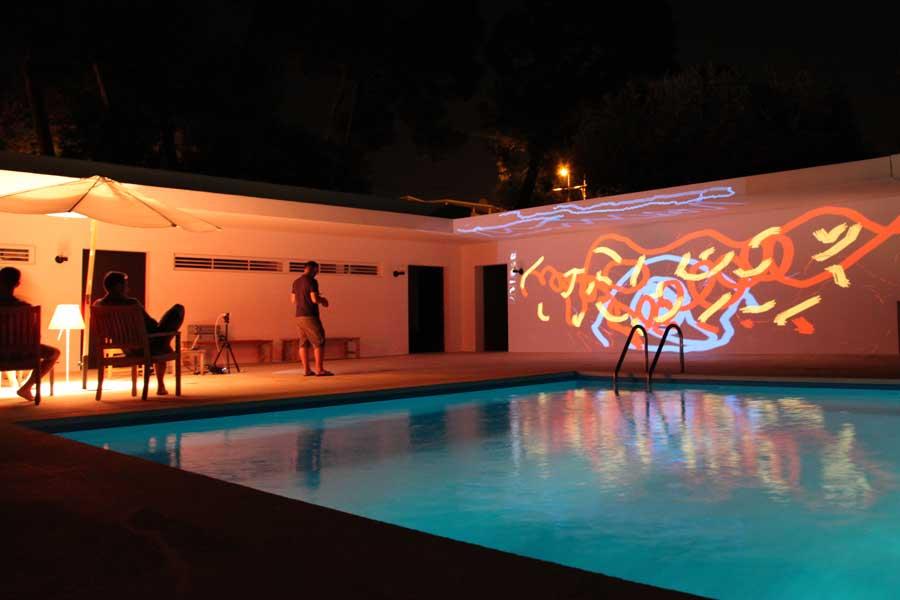 Graffiti numérique - animation digitale pour événement en plein air