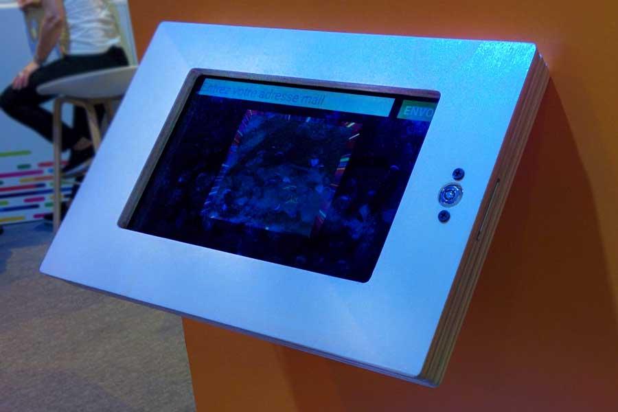 Graffiti numérique - animation digitale pour événement - tablette connectée