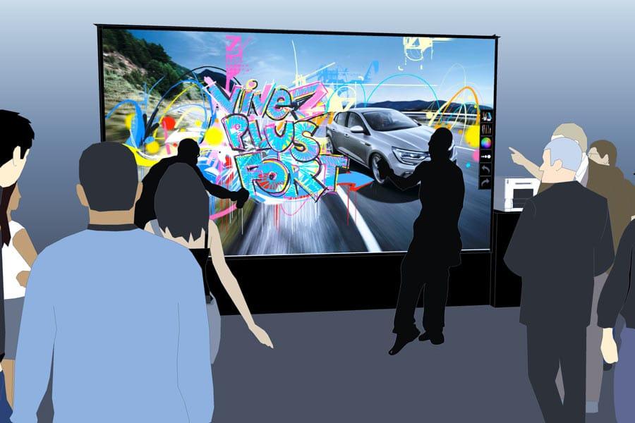 animation evenement digital