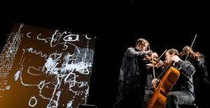 Spectacle vivant - Graffiti digital - Quatuor de Bussy