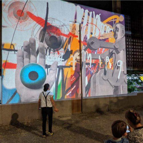 Fresque graffiti - Graffiti monumental - Graffiti digital - Evènement street art - Animation street art - Street Art Fest Grenoble